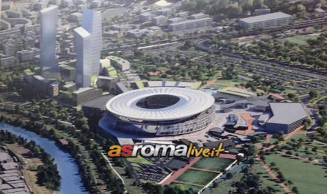 Presentazione nuovo Stadio Roma