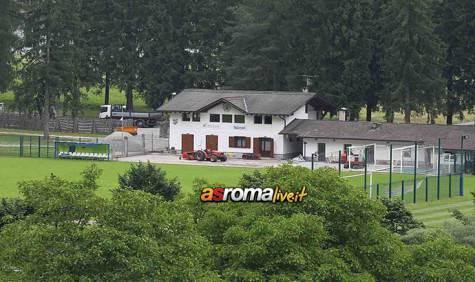 Ritiro Roma a Pinzolo