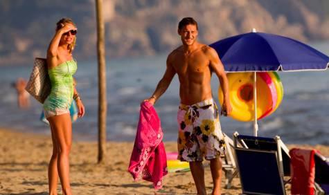Totti e Ilary in vacanza