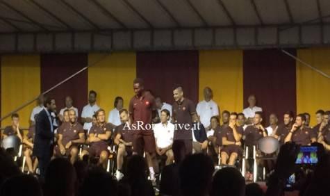Mapou e Iturbe sul palco