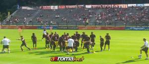 Allenamento Roma