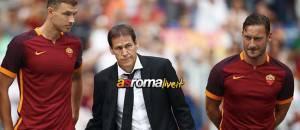 Garcia Totti Dzeko