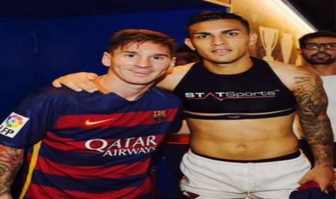 Paredes e Messi