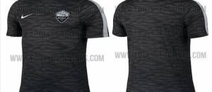 La maglia d'allenamento per la Champions 15-16
