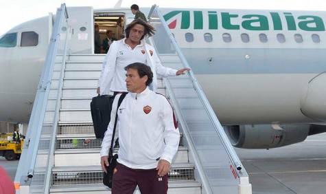 La squadra arriva a Minsk