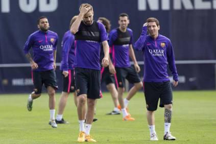 Pique e Messi