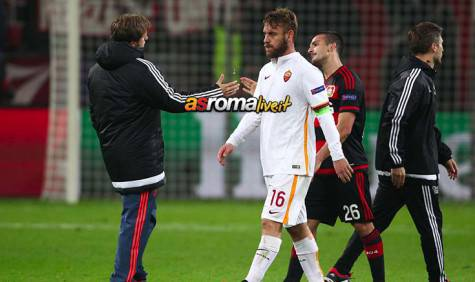 Bayer Leverkusen-Roma De Rossi