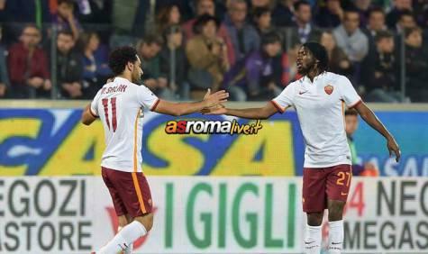 Fiorentina-Roma Salah Gervinho