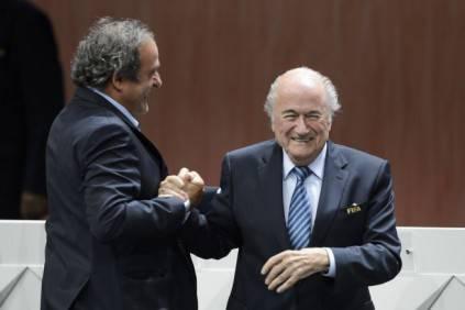 Platini e Blatter