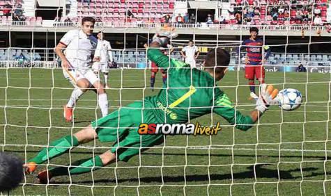 Youth League Barcellona-Roma rigore Marchizza