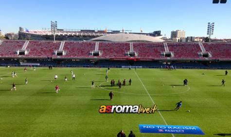 Youth League Barcellona-Roma