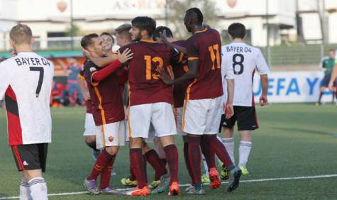 youth league roma bayer