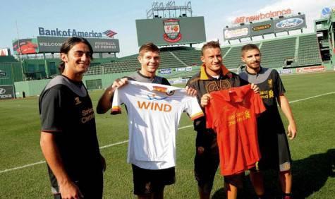 Gerrard e Totti