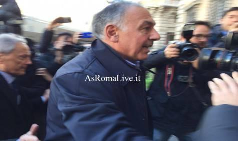 Pallotta arriva all'incontro con Gabrielli