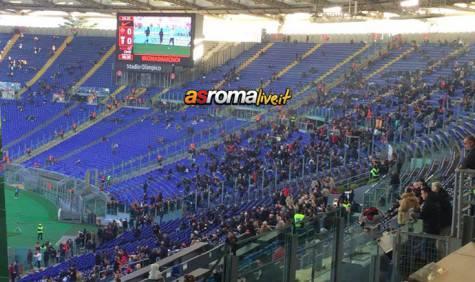 Roma Genoa Curva Sud
