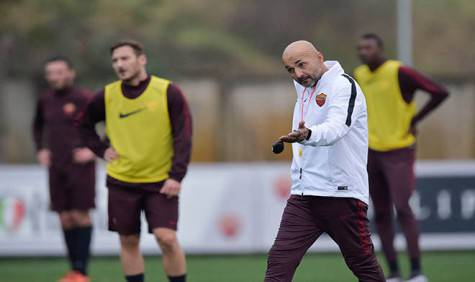 Spalletti (foto As Roma)