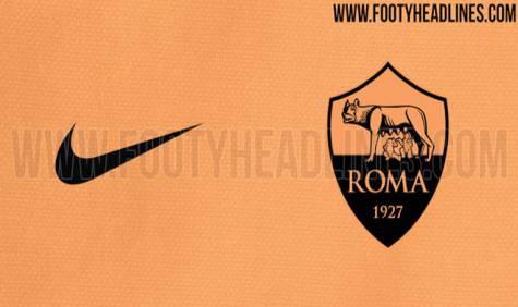 7b31283bb2 Sarà arancione la terza maglia della Roma 2016-17 (FOTO)