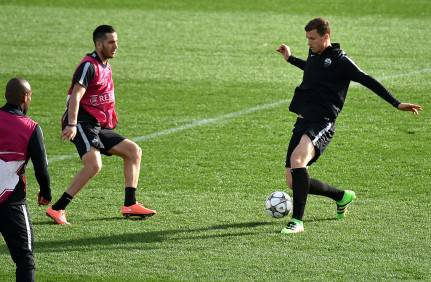 Allenamento As Roma( Getty Images) AsRl