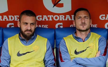 Daniele De Rossi e Francesco Totti