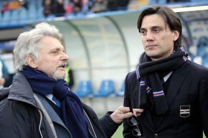 Massimo Ferrero e Vincenzo Montella