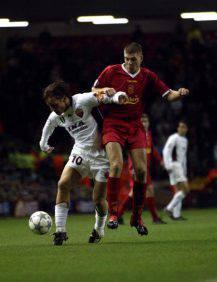 Francesco Totti e Steven Gerrard