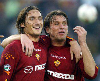 Francesco Totti e Antonio Cassano