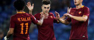 Salah, El Shaarawy e Dzeko