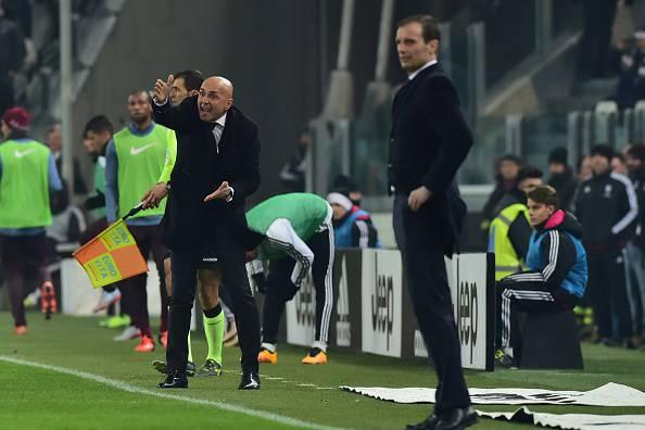 Spalletti e Allegri Juventus Roma