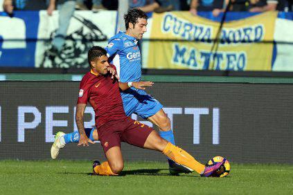 Roma, Emerson Palmieri fuori 2-3 settimane. Totti non convocato