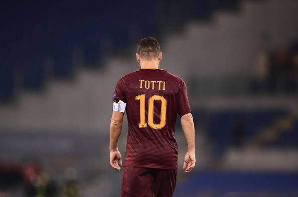 infortunio Totti