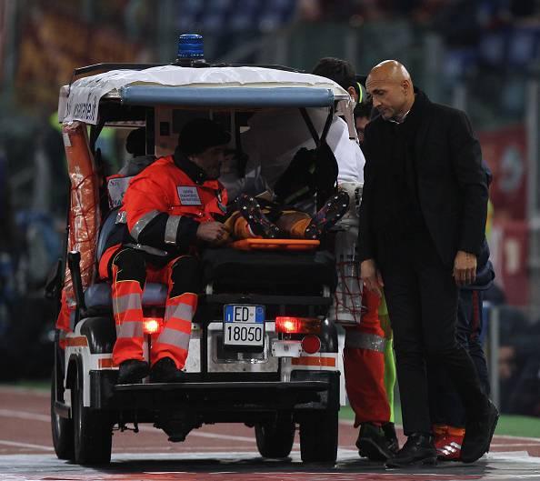 Roma, Bruno Peres si ferma Verso la panchina contro il Milan