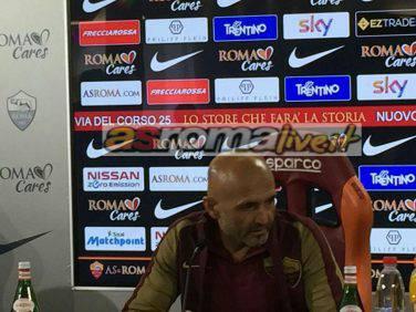 Spalletti derby Lazio Roma