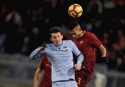 Juan Jesus Roma Sampdoria Coppa Italia