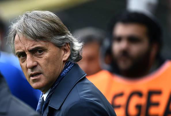 Mancini e l'addio all'Inter: