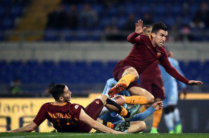 Strootman Lazio-Roma