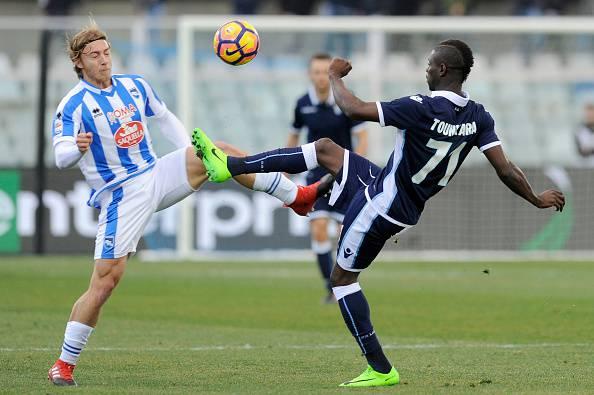 Derby di Roma, Tounkara offende Totti su Instagram: