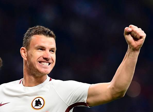 Dzeko Milan Roma