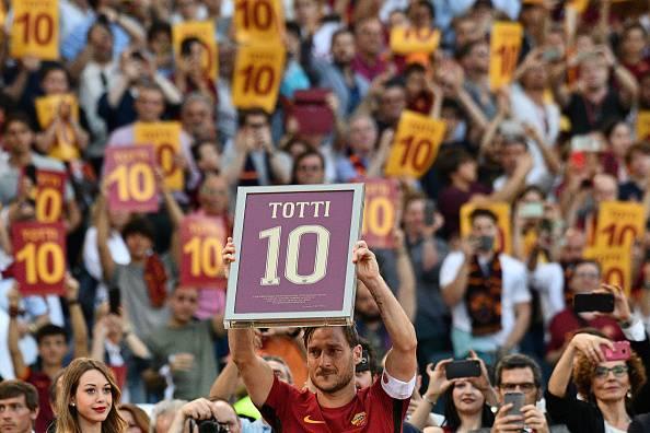 lettera Totti