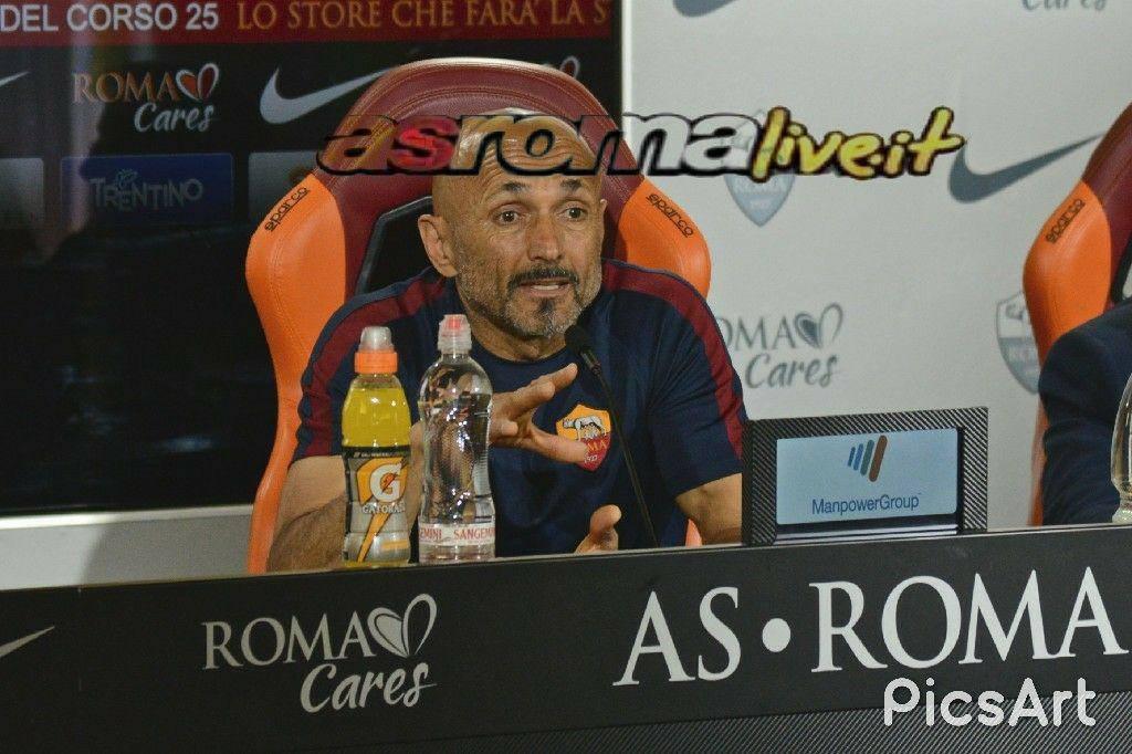 conferenza spalletti roma genoa