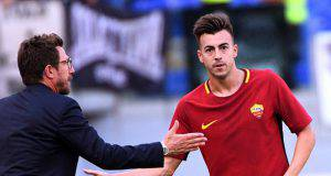 El Shaarawy Roma Udinese