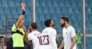Espulsione Daniele De Rossi Genoa-Roma