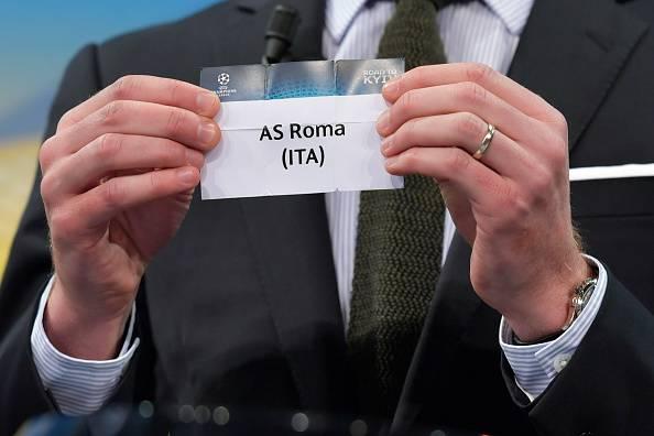 Diretta sorteggi Champions avversaria Roma