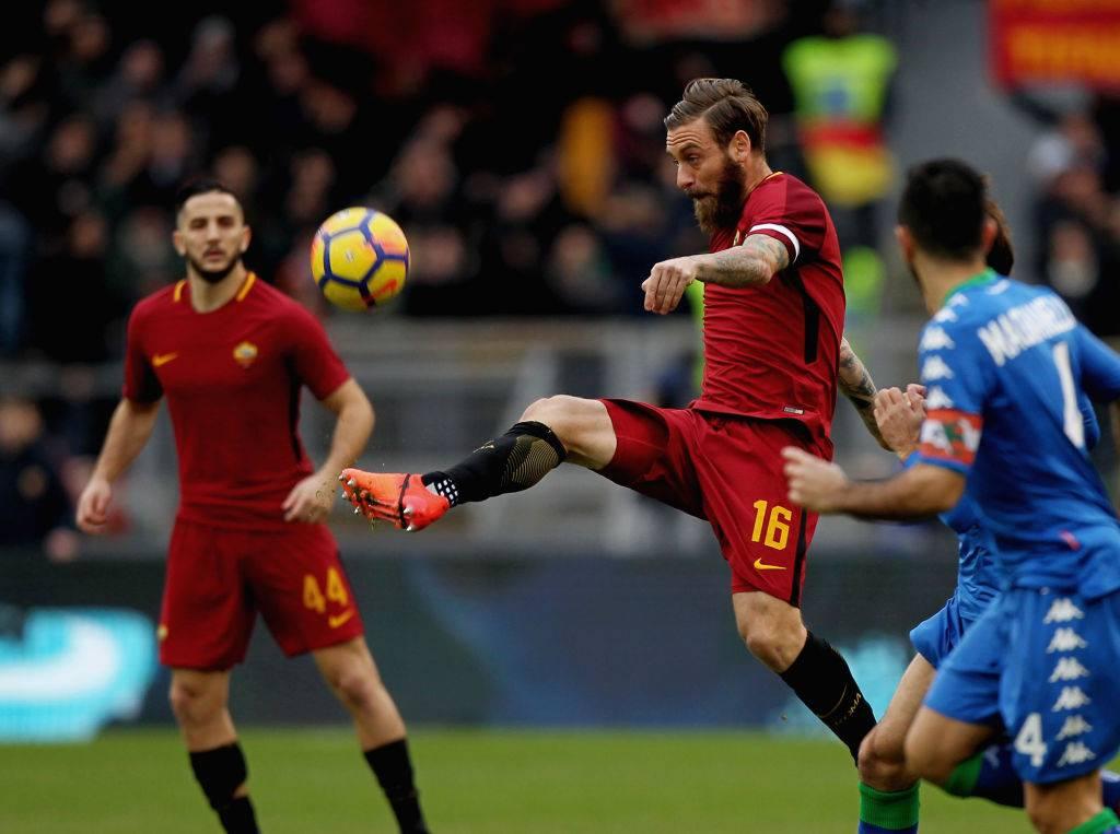 Formazioni ufficiali Roma Torino De Rossi