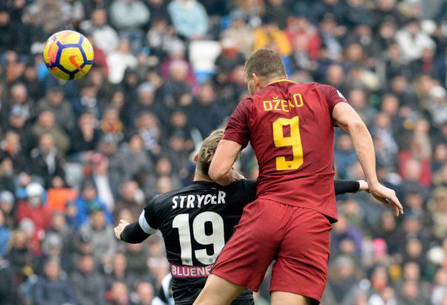 Formazioni ufficiali Roma Milan Dzeko Schick