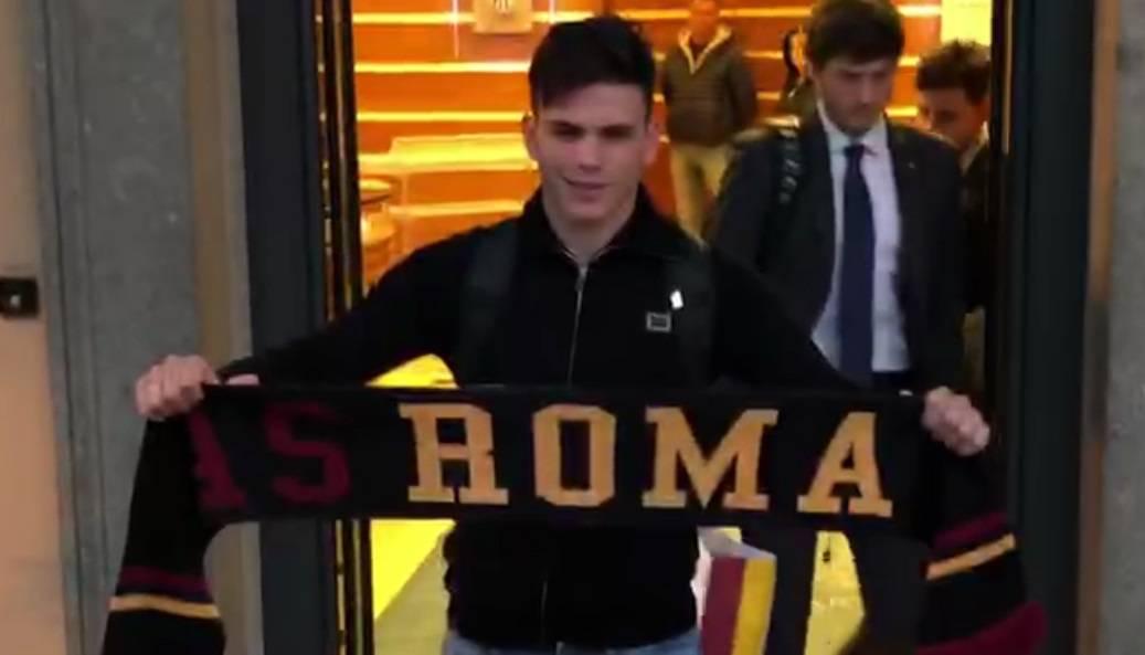 Allenamento Roma Silva in gruppo
