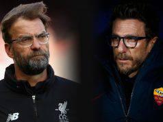 Probabili formazioni Liverpool Roma