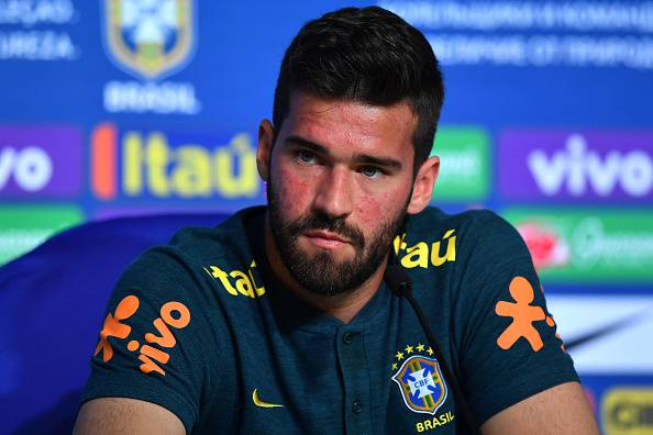 Alisson real madrid