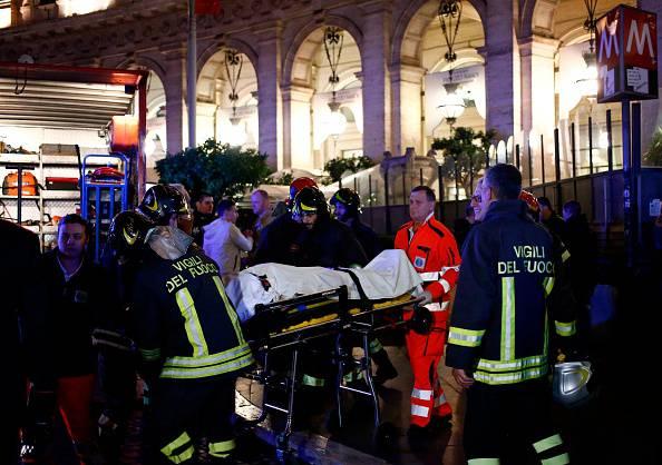 incidente metro A