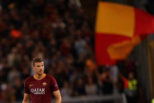 Mercato Roma. L'agente di Dzeko è nella sede dell'Inter