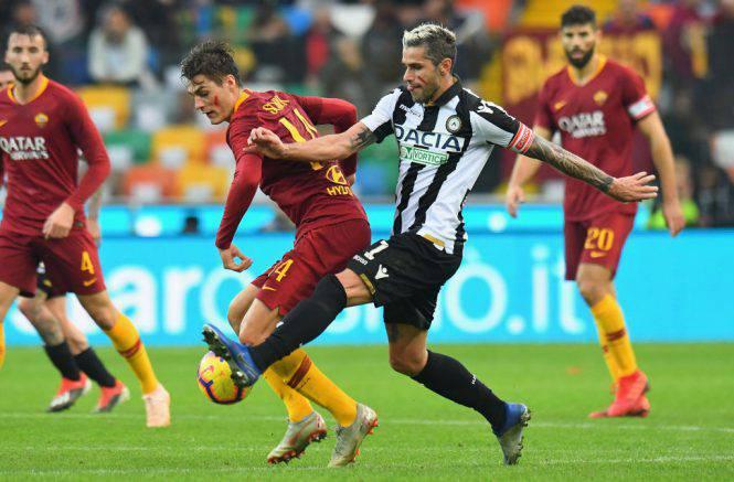 Voti Udinese Roma